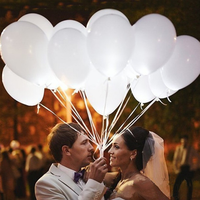 wholesale wedding celebration party bar performance White light LED balloon flashlight balloons