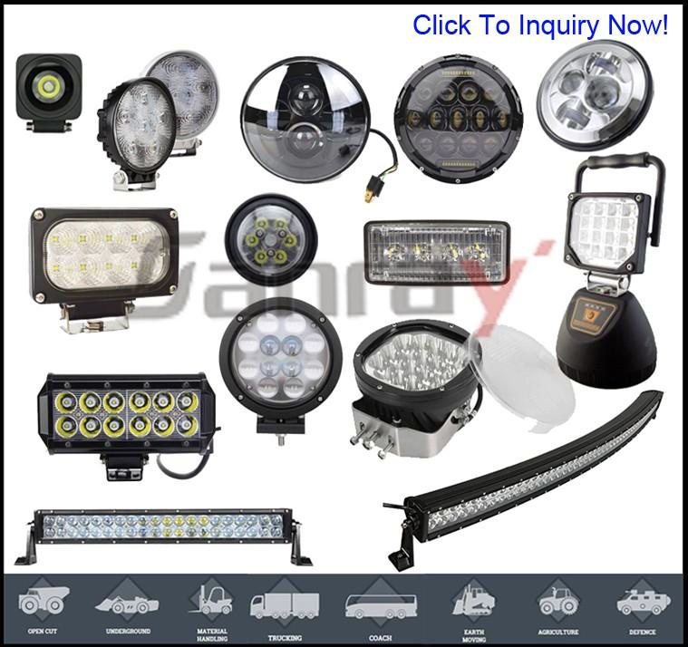 Forklift LED safety products 30w 10-80v Red Zone Danger Area Warning Light