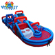 giant inflatable obstacle course, adult inflatable obstacle course, obstacle race inflatable game