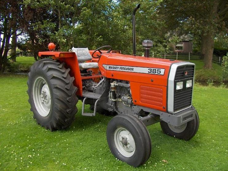 Massey Ferguson 385 (2wd),Tractors