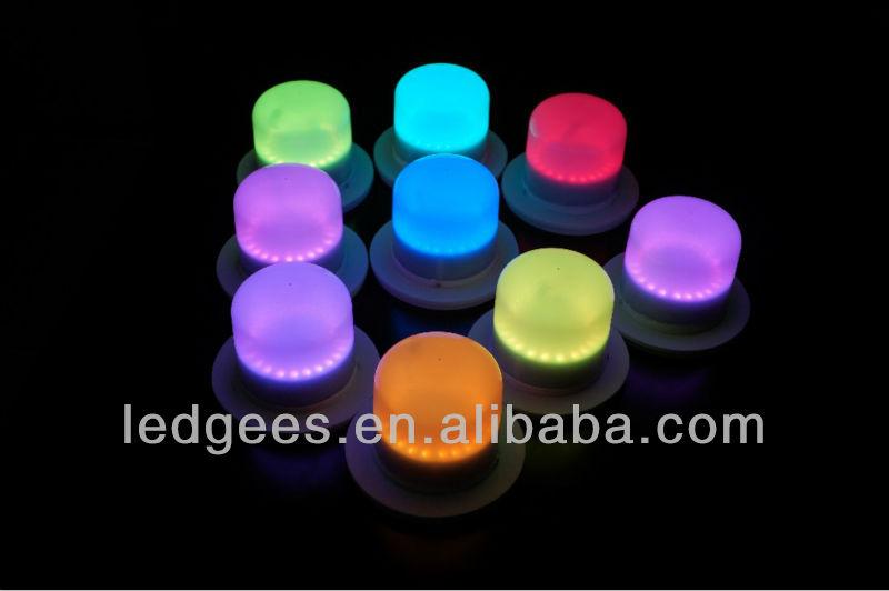 Luci A Led A Batteria.Ip68 Rgb Impermeabile Ricaricabile Piccola Lampada Con Luci Led Batteria Size 102mm Per La Cerimonia Nuziale Ed Evento Parte Buy Piccola Batteria A