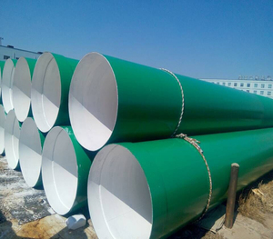 FBE coated AWWA C200 Steel Pipe