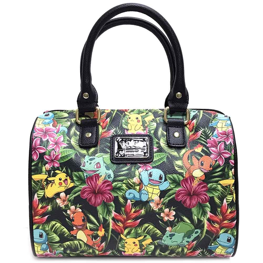 Get Quotations · Loungefly X Pokemon TROPICAL STARTER Duffle Bag in Green 5d3258b7cb9d9