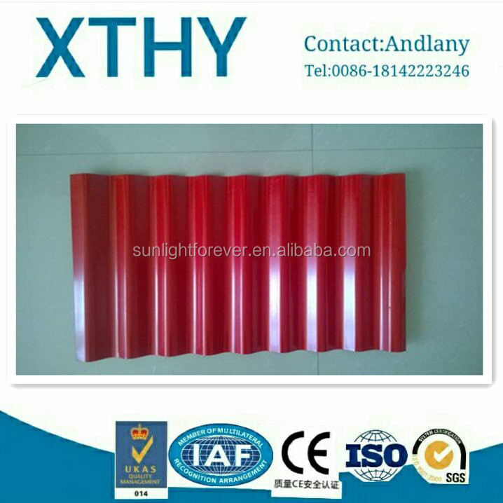 household roofing and wall use from Tianjin prepainted steel corrugated color coated made in China