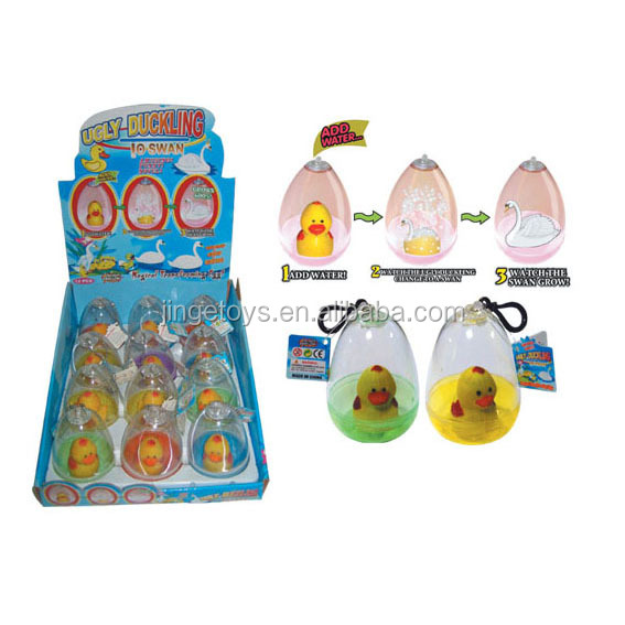 Sell ugly duck to swan growing toys