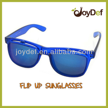 New Arrival 2016 Fashion Style Flip Up Sun glasses Flip Up Sport Sunglasses