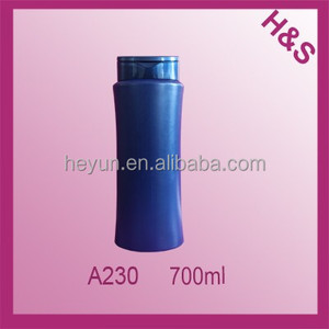 700ml personalized HDPE shampoo bottle