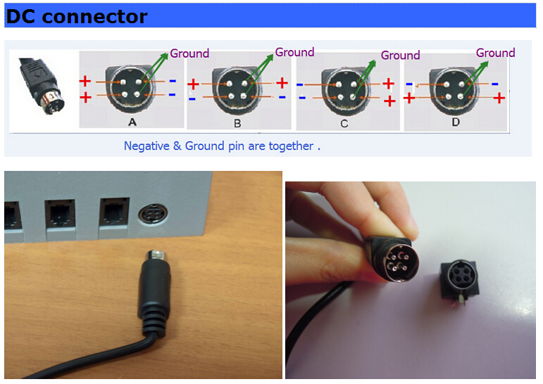 4 Pin Dc Connector Bing Images