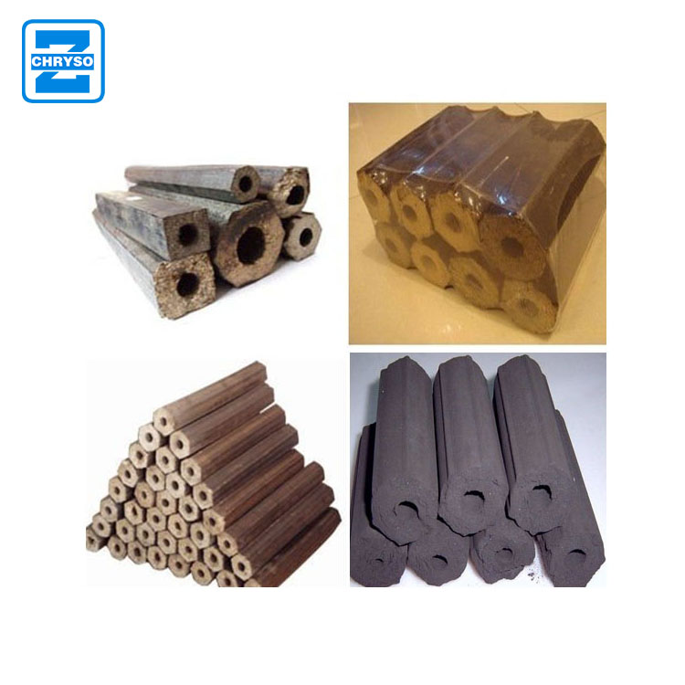 Agricultural Rice Husk Straw Biomass Briquette Making Machine briquette extruder Price