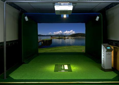 Par T Indoor Golf Simulator Double Eagle 2500 Premier