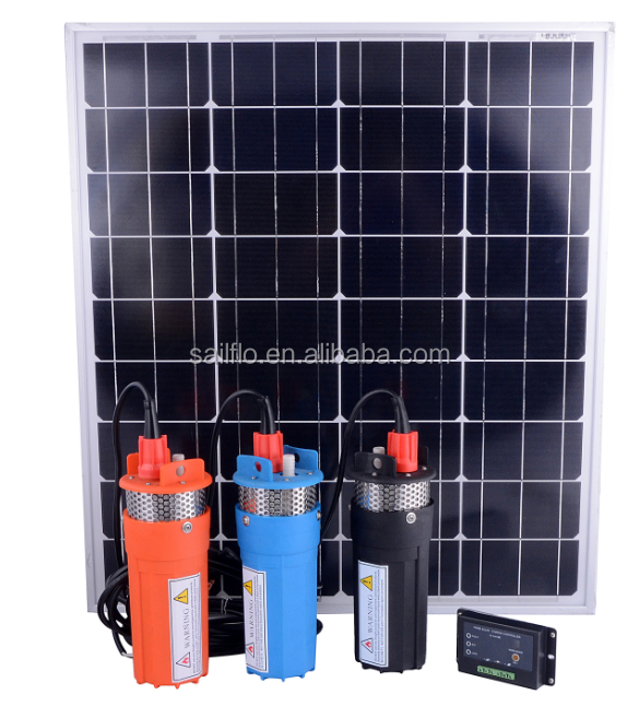 sailflo 12v 24v dc 6LPM submersible pump/solar borehole water pumps