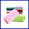 2016 Promotional Wholesale Custom Soft Cotton Arm And Sport Rainbow Sweatband
