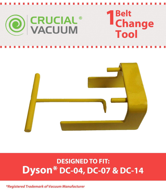 Crucial Vacuum Dyson DC04 DC07 DC14 Vacuum Belt Tool for Dyson Vacuum DC07, DC04 and DC14, Compare to Dyson Part No.10-10000-08