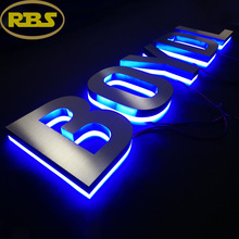 China Goods Wholesale led backlit signs used outdoor lighted signs