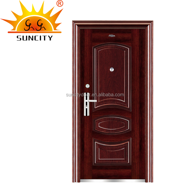 Sc S029 Used Residential Metal Doors With Frames