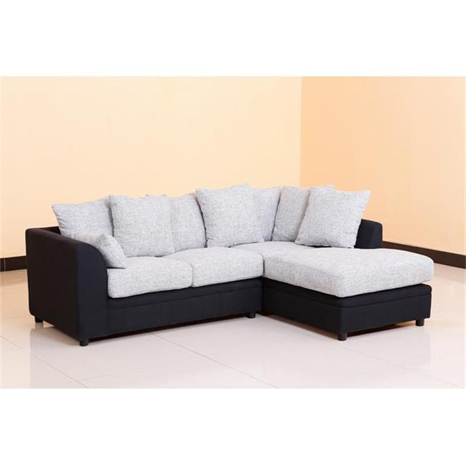 Rexine Fabric Sofa Fl Pattern Set Living Room Furniture