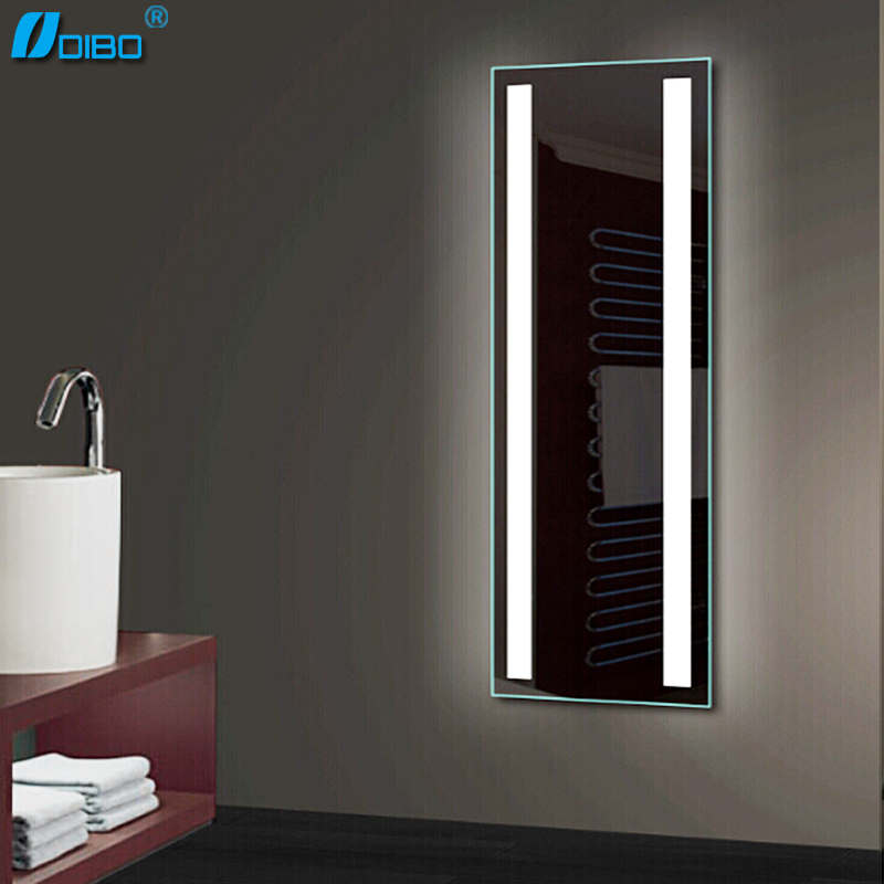 Wall Mounted Full Length Lighted Dressing Room Mirror With Lights