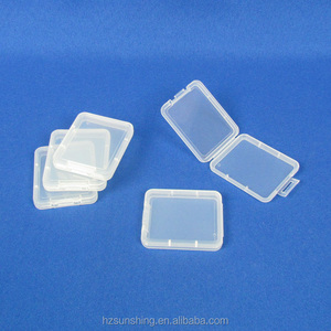 BSCI audited factory SD TF CF Memory card plastic box