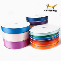 Multi Size Color Polyester Faced Satin Celebrate Ribbon By The Spool