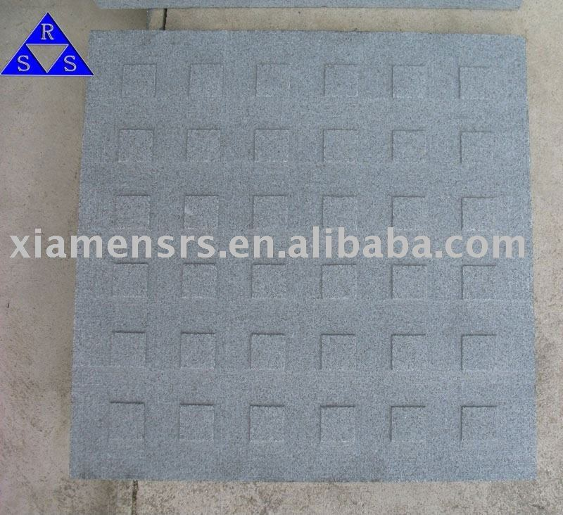 G603 China natural grey granite blind stone tile paving material