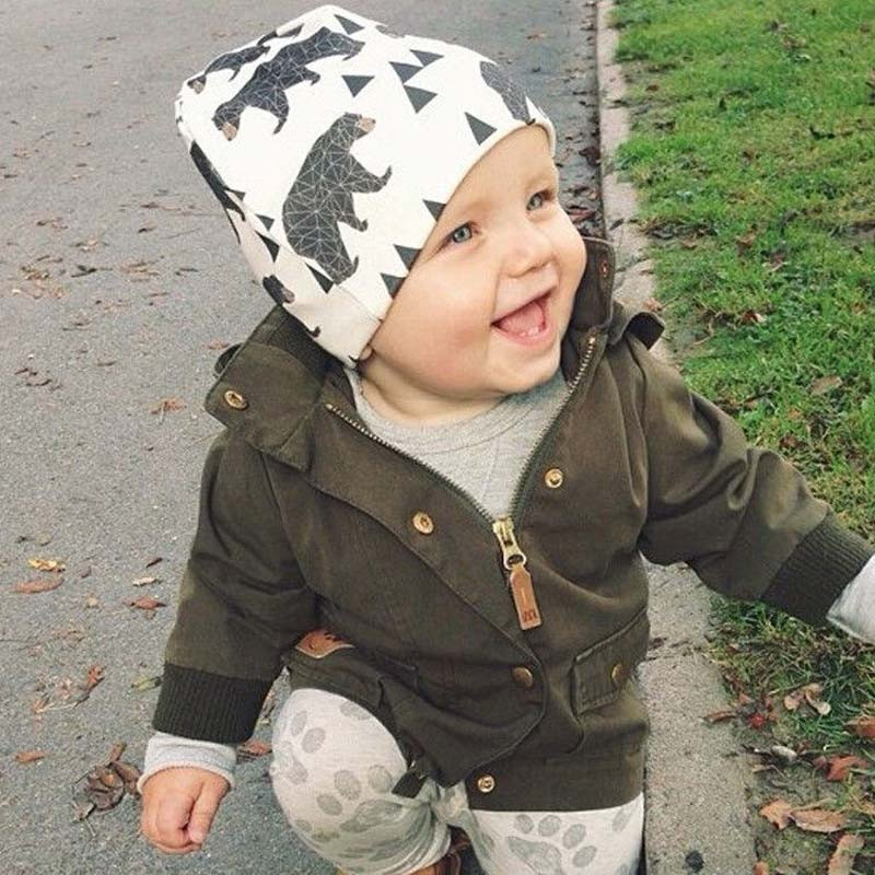 Fashionable hottest lovely bonnet accessories baby toddler cotton knitted animal beanie