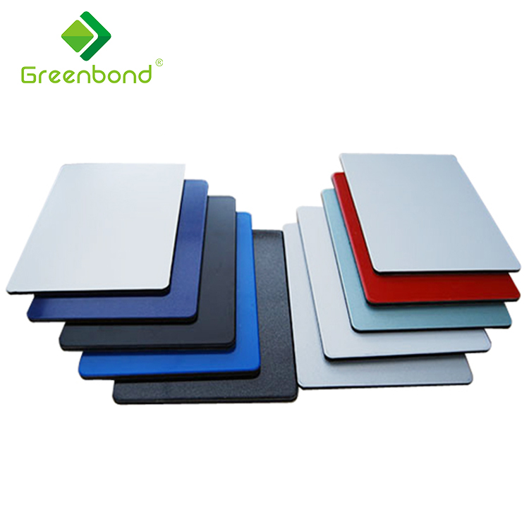 Greenbond brushed building facades aluminium composite