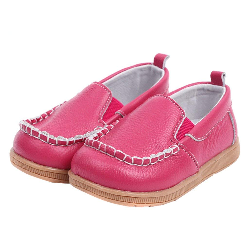 0cd10654e0f Get Quotations · Eclimb Toddler Boy s Girl s Slip-on Loafers Oxford Shoes