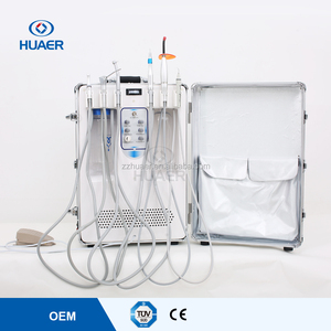 Portable Dental Unit With Multi-function Pedal Medical Instrument For Mobile Clinic
