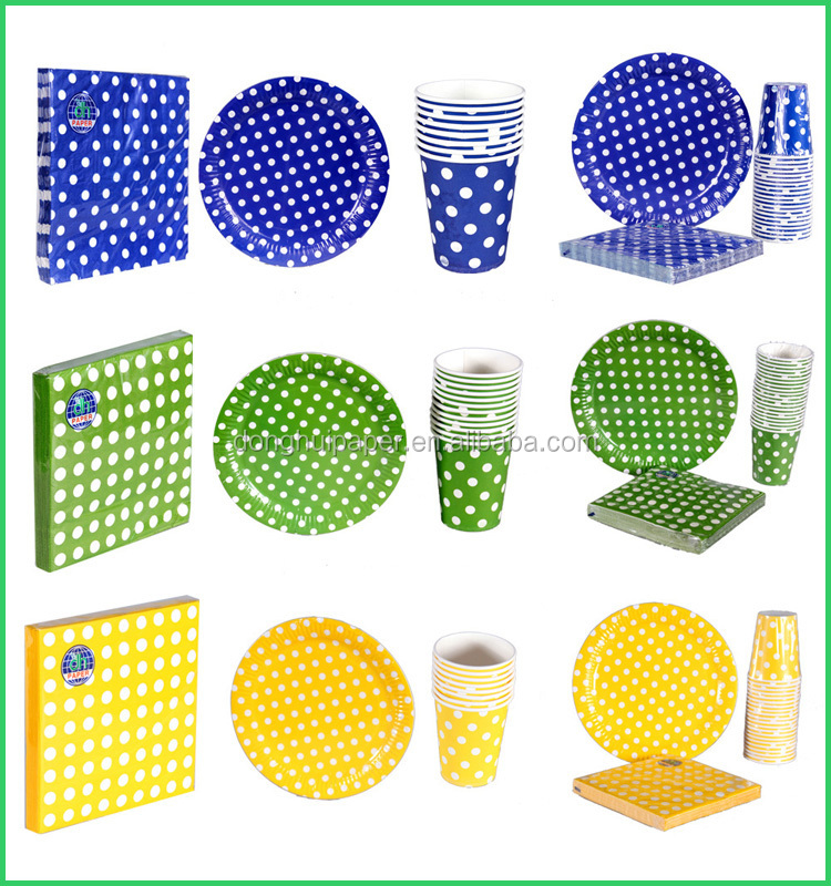 Color Paper Dish,Party Decoration Paper Plate,Paper Plate Size ...