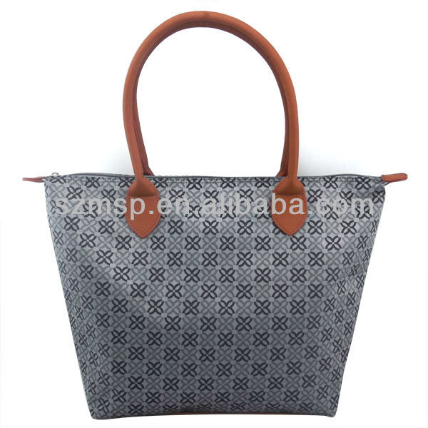 Trendy Fashion Colorful Ladies Jacquard Tote bag