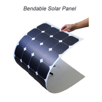 100 watts flexible solar panel outdoor solar module, mono solar panel,sunpower solar cell for boat yacht