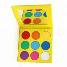 Private Label Eyeshadow Palette Custom Uw Oogschaduw Kleur 9 Kleur Oogschaduw <span class=keywords><strong>Make-Up</strong></span>