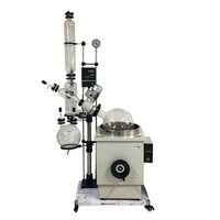Cold Trap Extractor Bho Vaccum Distillation Column Alcohol 20 Liter Rotary Evaporator