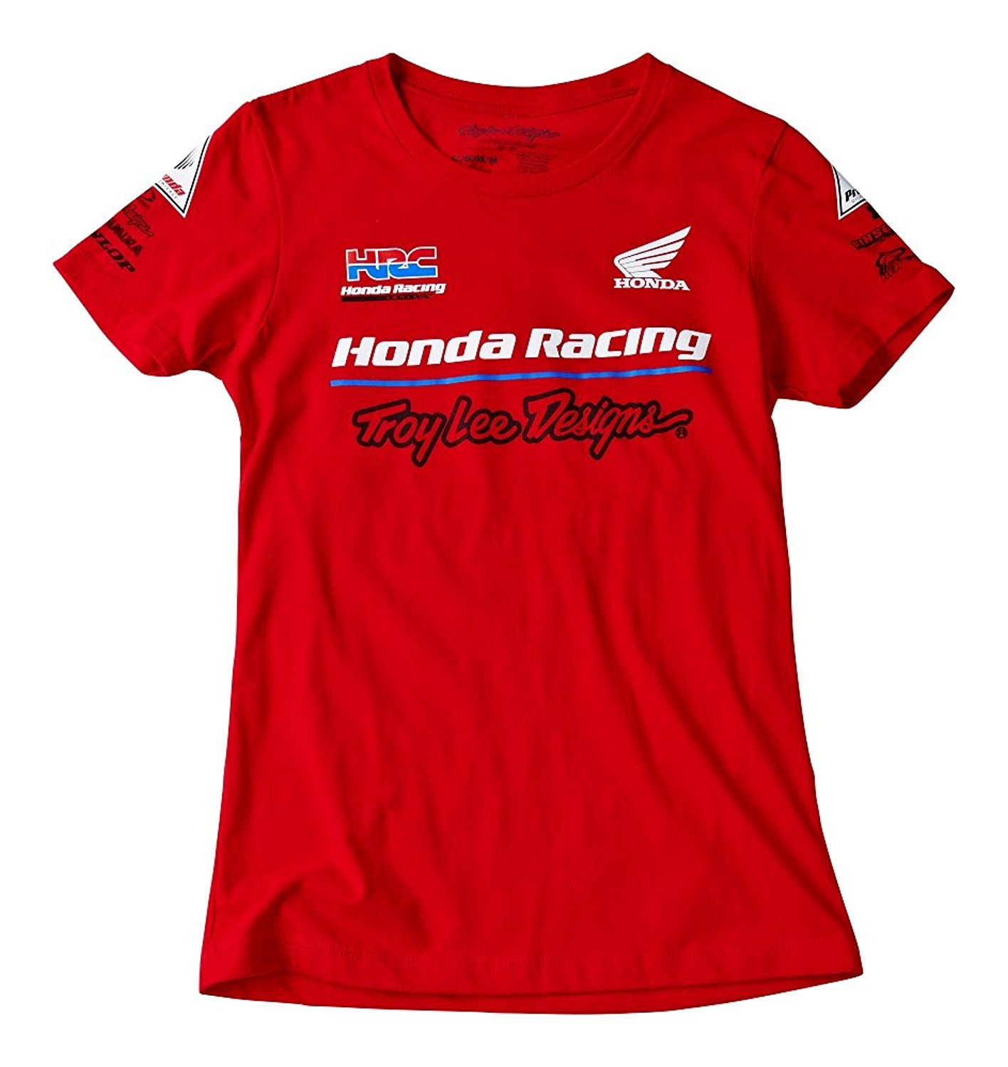 05198de2970e8 Get Quotations · Troy Lee Designs Womens Honda Team Short-Sleeve Shirt