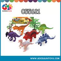 Cartoon toys Vinyl Mini Dinosaurs Toy Set 055621