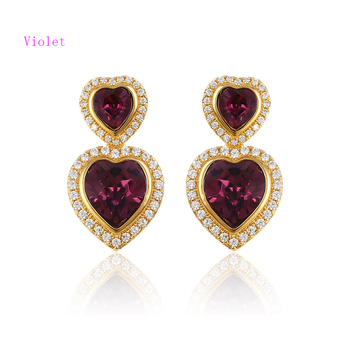 7eb447ed2133 92631-xuping hot sale stylish daily wear earrings made with crystals from  Swarovski