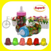 mini fruit jelly cup, grape fruit jelly in bottle toy for kids