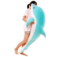 Ocean Animal Dolls Kids Pillow Super Soft Toys Stuffed Dolphin Plush Toy