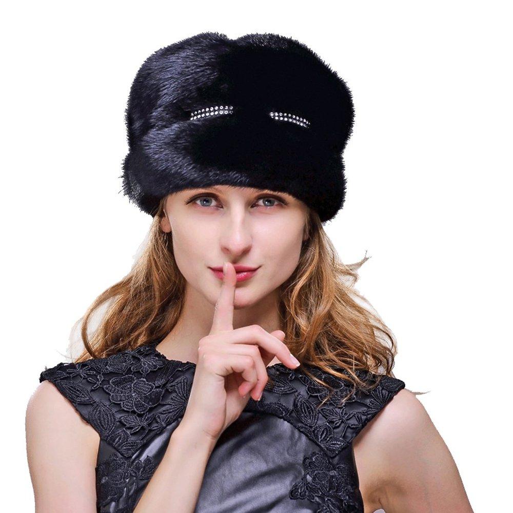 394fa425f4d Buy Women  39 s Mink Fur Fedora Hat with Silver Fox Fur in Cheap ...