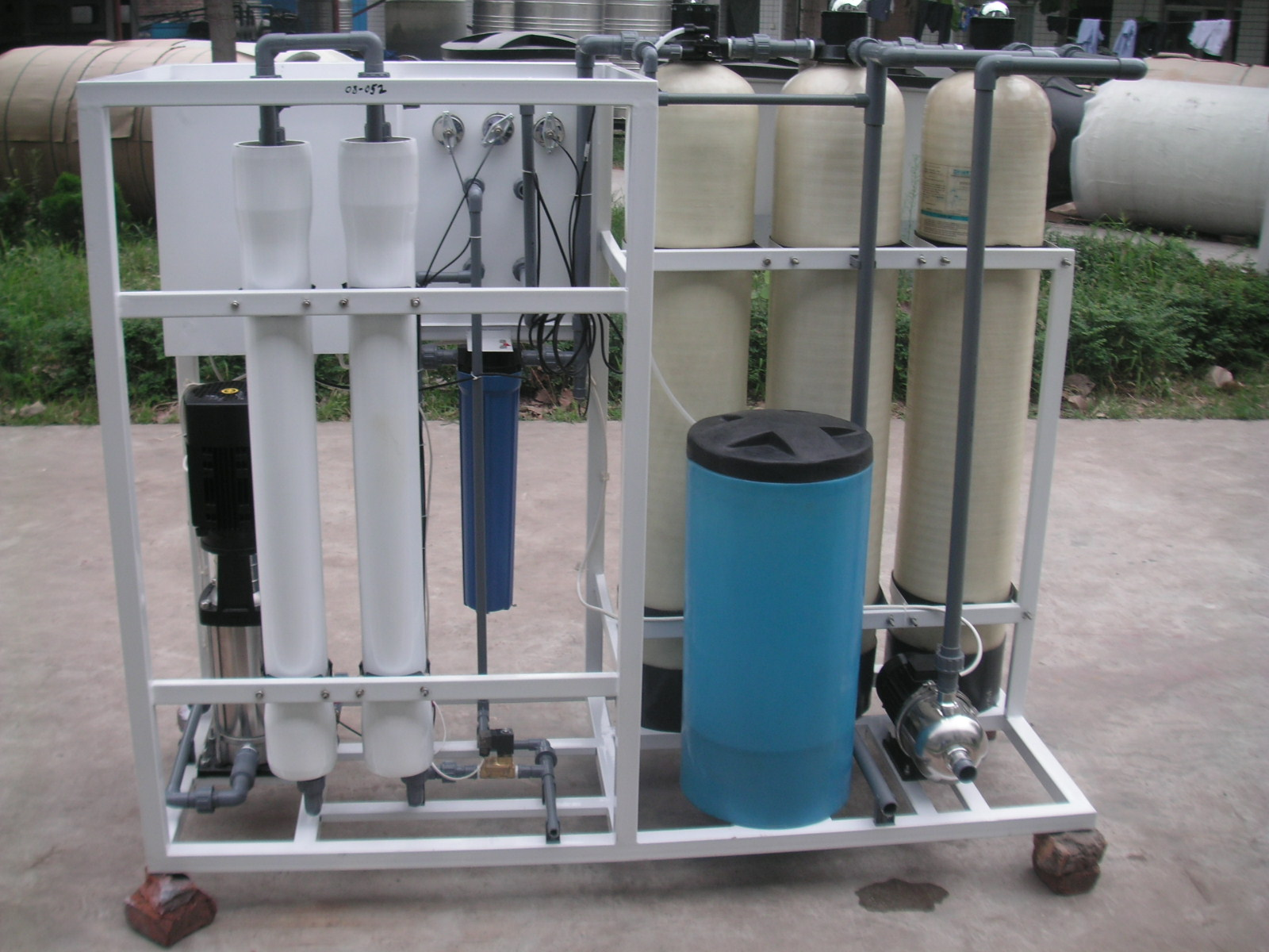 1000LPH Domestic RO Water Desalination Equipment