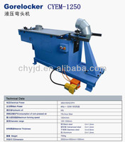 CYEM-1250 Hydraulic Elbow making Machine used by Ventilation Duct