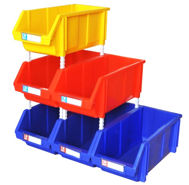 stackable bins for storing bolts nuts spare parts