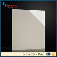 2016 New Products Square Interior Beige Polished Ceramic Floor Tile