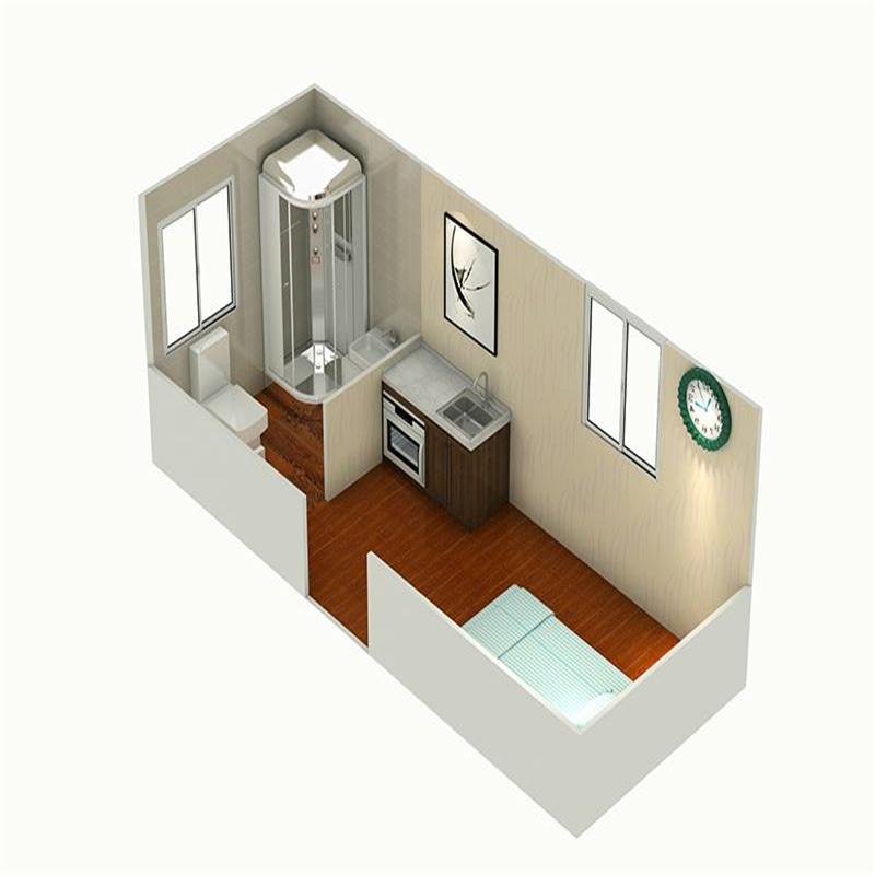 Modular Portable Folding Flat Pack Prefab House With