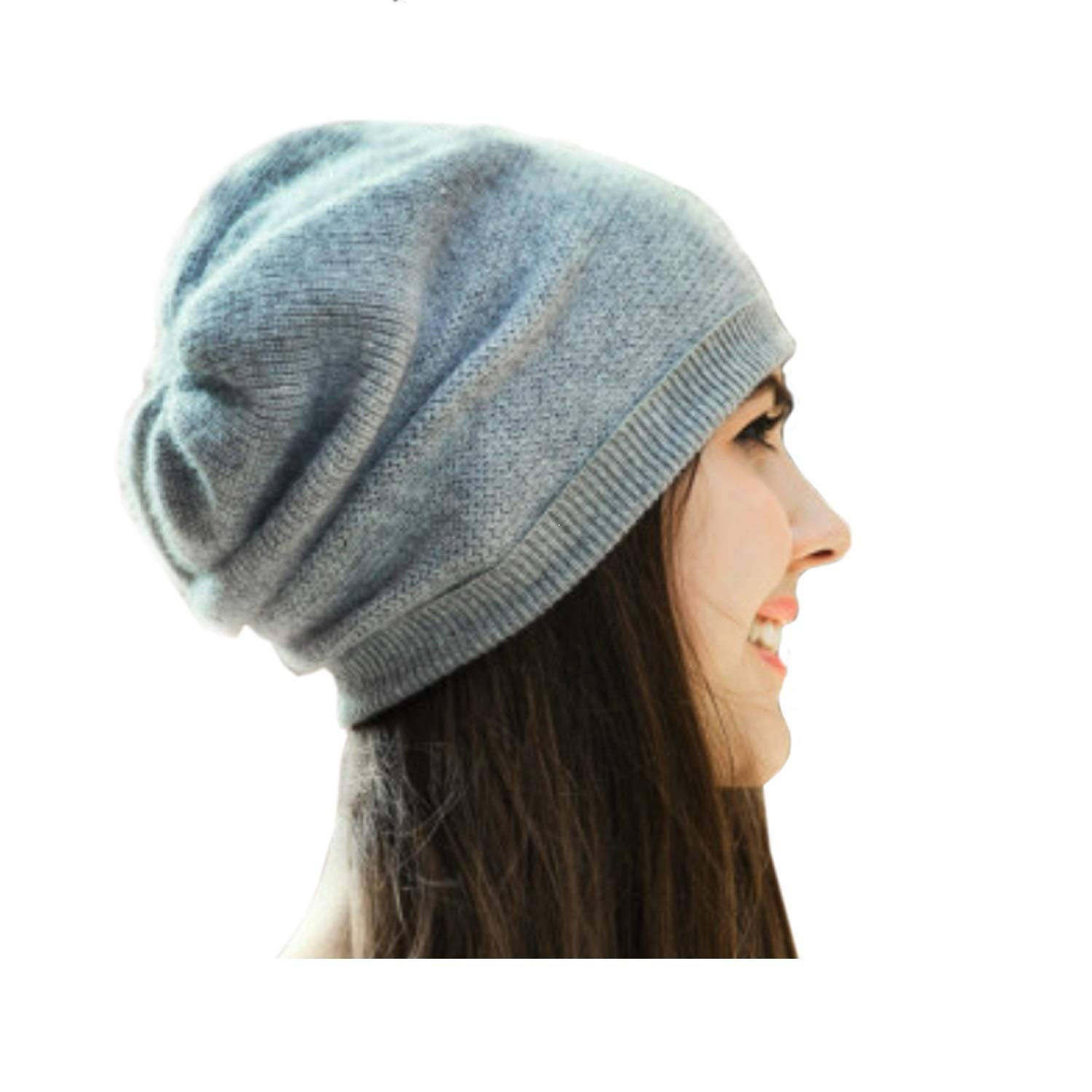 Get Quotations · WaySoft 100% Cashmere Beanie for Women in a Gift Box 1bb8265d17df