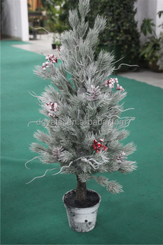 small size cool fake christmas trees 70cm artificial christmas potted tree