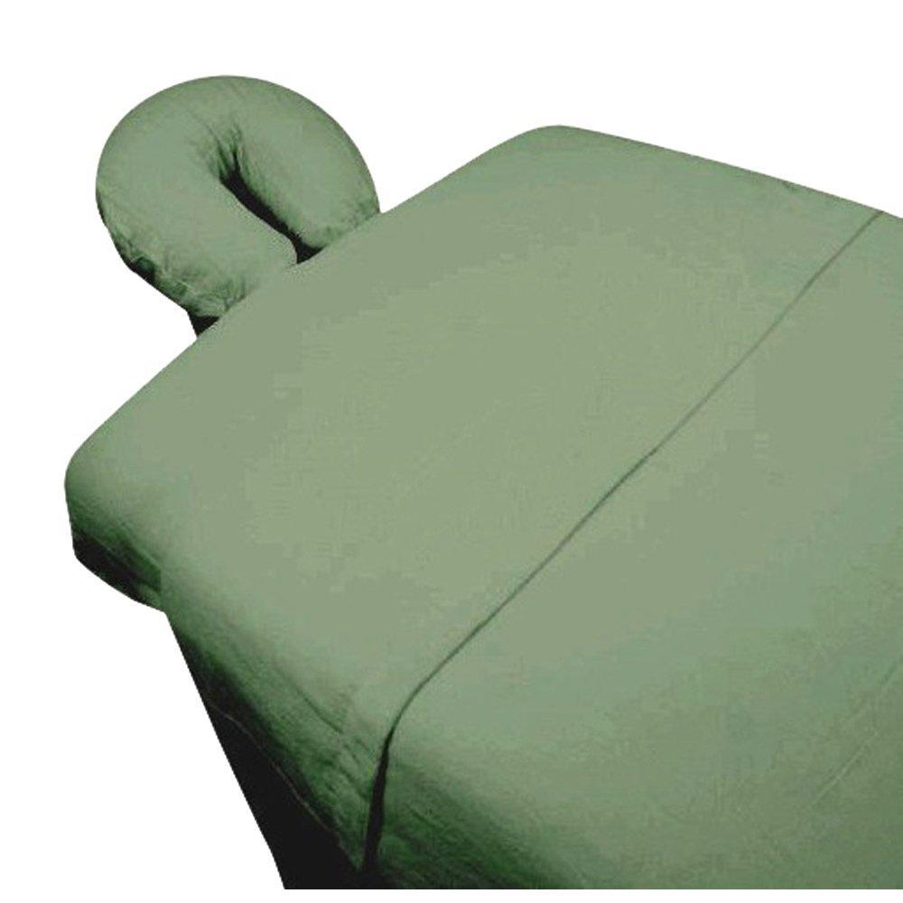 High Quality -3pc Microfiber Massage Table Sheet Set - Sage