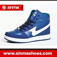 Males Shoes High Top Shoes Casual Shoes With PU face Leather