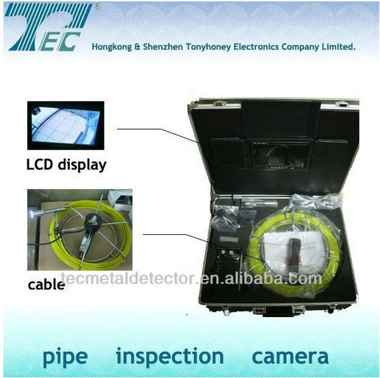 DM VIewing 120, DVR, Pipeline Inspection Equippment with 7'' Color Monitor