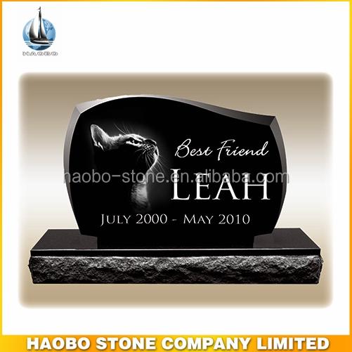 Absoluut zwart granieten dieren graf markers grafstenen en monumenten product id 1871080586 - Zwart granieten werkblad prijs ...